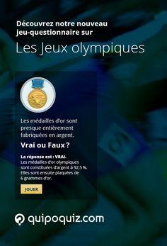 Testez vos connaissances des Jeux olympiques avec ce jeu-questionnaire de Quipo Quiz.