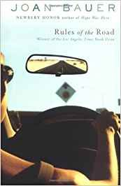 Rules of the Road by Joan Bauer : this book is from the Sonlight Core 100 pack AND the Sonlight Literature 130 pack.    The story is about a 16 year old girl, Jenna, who doesn't fit in super well with her peers but loves her job as a sales person at a show store.  The eldery, female president of the show store ends up hiring her for a summer to drive her around the US on a tour of all her stores.  Both Jenna and Mrs. Gladstone end up teaching each other a lot of life lessons.  I loved the…