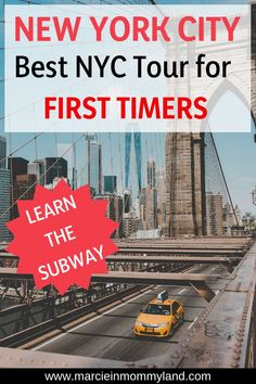 Visiting New York City for the first time? Find out the best NYC tour for first … New York City Vacation, Visit New York City, New York City Travel, Us Travel Destinations, Family Vacation Destinations, Travel Usa, Travel Tips, Travel Guides, New York Tours