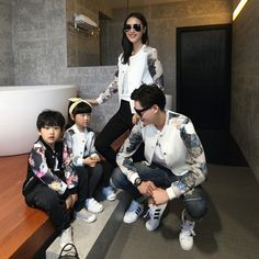 Family Clothing Fashion Coats Family Set Clothes for Mother and Daughter Father Son Clothing Family Clothes, CP42