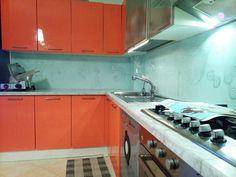 Pin di Jana su cucina, parete di fondo: colla per piastrelle ...
