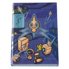 Pokemon Center hardcover notebook Rotom Motisma.with the bonus item made in Jpn #PokemonCenter