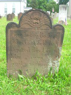 John Campfield 1772 E. Hanover, NJ