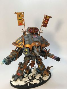 When the Grim Dark of Game of thrones meets the Grim Dark of Warhammer this is what happens! Warhammer 40k Space Wolves, Warhammer 40k Figures, Warhammer Models, Warhammer 40k Miniatures, Warhammer 40000, Imperial Knight, Wolf Wallpaper, Moon Moon, The Grim
