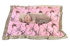 Mossy Oak Pink Baby Blanket - Carstens Camo Kids – Camo Chique