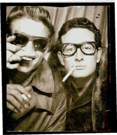 Waylon Jennings & Buddy Holly, 1959 Old Soul Retro Times: Photobooth Favorites