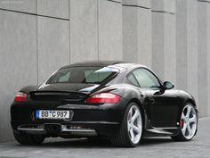 TechArt Porsche Cayman S wallpaper # 02 of 02, Rear Angle, MY 2006, 800x600