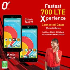 Shout-out to all the peepz in Davao City Philippines! Experience faster and stronger PLDT-Smart Connected Davao this weekend by visiting O store outlets at the Gaisano Mall of Davao (GMALL)and SM Lanang Premier to try out O Sonic 700 LTE and O Xfinit 700 LTE! #FastInternet #700LTE #SmarterDavao - http://ift.tt/1HQJd81