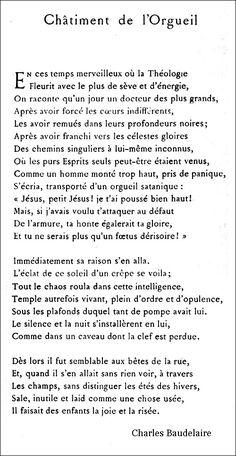 Baudelaire - Châtime