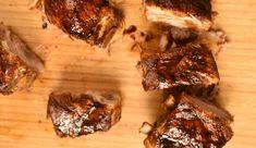 Omlós, édes, ragacsos sült oldalas - Így lesz tökéletes - Receptek | SóBors Steak, Pork, Beef, Kale Stir Fry, Meat, Steaks, Pork Chops