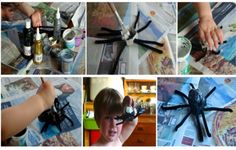 The Baba Blog | Mrs Fox's Halloween Egg Box Spiders