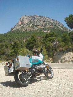 BMW R100GSPD - Sierra Espuna, Murcia