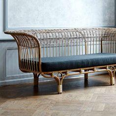 Traditional sofa / garden / wicker / rattan BELLADONNA by Nanna Ditzel Sika-Design