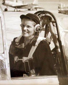 WASP (Women Airforce Service Pilot) during World War II