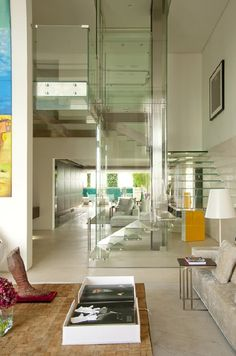 Artistic house in Malibu with an indoor pool