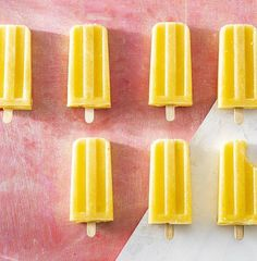 ice pops, ice pop recipes, homemade ice pops, frozen desserts, pineapple recipes, vegan ice pop recipes, vegan dessert recipes, fourth of july recipes, summer desserts, summer dessert recipes, ginger recipes, healthy snack ideas, healthy dessert recipes Ice Pop Recipes, Smoothie Recipes, Dessert Recipes, Frozen Treats, Frozen Desserts, Summer Desserts, Pudding Pop, Giant Food, Ginger Syrup