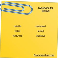 Are you ready to get a new batch of synonyms?