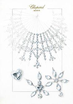Chopard-Marilyn-Jewellery-Set-sketch