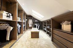 wardrobe designs for attic bedroom - Google Search