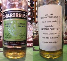 Excellente #chartreuse Verte de #Tarragone 1979, retour d'Argentine (cf contre étiquette) dégustée le 8 mars