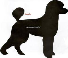 Artesanato e Cia : Decore a bolsa (Ecobag) com a silhueta do seu pet preferido- molde de várias raças