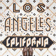 """2,230 Likes, 15 Comments - Ligature Collective (@ligaturecollective) on Instagram: """"LOS ANGELES  Tiled lettering by @nickmisani"""""""