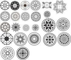 전통문양그림자료모음 : 네이버 블로그 Chinese Patterns, Indian Patterns, Doodle Patterns, Print Patterns, Korean Design, Tattoo Project, Wood Burning Patterns, Chinese Symbols, Circle Art