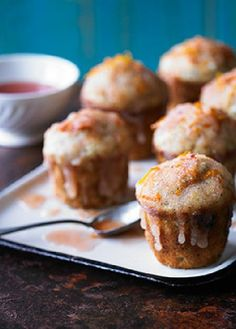 Low FODMAP Recipe and Gluten Free Recipe - Orange & poppy drizzle muffins  http://www.ibs-health.com/low_fodmap_orange_poppy_drizzle_muffins.html