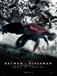 Fan-Made Poster - Batman v #Superman: Dawn of Justice by Faraz
