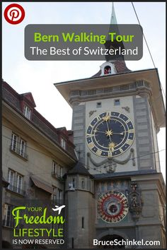 The next time you are visiting Switzerland, I highly recommend you stay in its capital city, Bern, and definitely take part in a Bern Walking Tour. Bern, Best Of Switzerland, Top Places To Travel, Swiss Travel Pass, Amazing Adventures, Travel Goals, Walking Tour, Travel With Kids, Luxury Travel