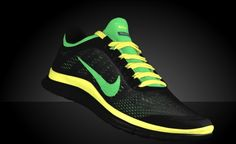 Nike Free Runs Jamaican Colors