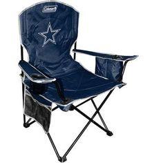 Rawlings Coleman Nfl Dallas Cowboys Folding Cooler Chair - Navy, Blue