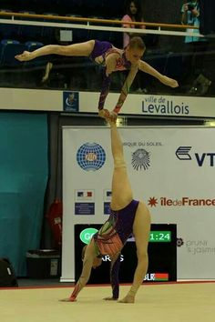 Belarus Women's pair 2014 Acrobatic Gymnastics, Wrestling, Drawing, Sports, Lucha Libre, Hs Sports, Sketches, Drawings, Sport