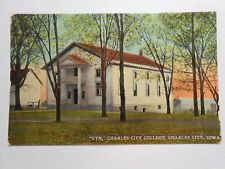 Old Postcard. CHARLES CITY, IOWA, CHARLES CITY COLLEGE GYM Charles City Iowa, City College, Old Postcards, Gazebo, Sweet Home, Outdoor Structures, Gym, Kiosk, House Beautiful