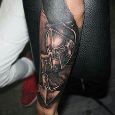Spartan tatto Warrior tattoo