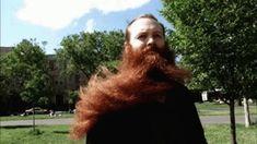 But you get to have fun facial hair. Epic Beard, Awesome Beards, Facial Hair, Have Fun, Long Hair Styles, Beauty, Women, Hair 24, Tan Solo