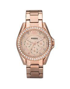 Reloj de mujer Riley Fossil - Mujer - Relojes - El Corte Inglés - Moda