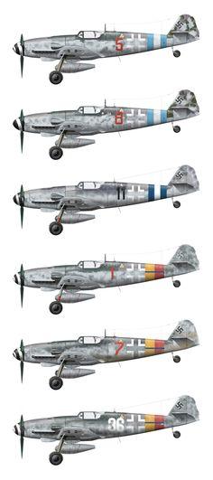Erla Messerschmitt Bf 109 G-10