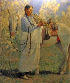 indian flute player western art - Google Search
