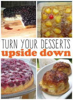 Delicious Upside Down Cake Recipes