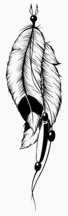 Feather Free Tattoo Stencil - Free Tattoo Feather Designs For Women - Customized Feather Tattoos - Free Feather Tattoos - Free Feather Printable Tattoo Stencils - Free Feather Printable Tattoo Designs Feather Stencil, Feather Drawing, Feather Tattoo Design, Feather Art, Indian Feather Tattoos, Indian Feathers, Tattoo Sketches, Tattoo Drawings, Body Art Tattoos