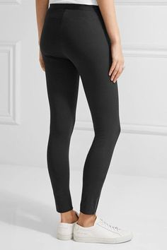 Helmut Lang - Stretch-ponte Leggings - Black -