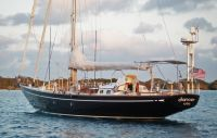 Bill Tripp Abeking & Rasmussen 55 ft Cutter 1965 Bill Tripp Abeking & Rasmussen. Yacht for sale from classic yacht broker..