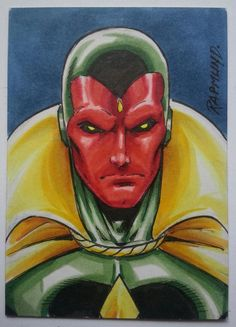 Vision - Awesome Art Picks: Baroness, Avengers, Dazzler, and More - Comic Vine