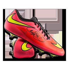 8cbd017f452bf Neymar Jr Autographed Peach Nike Hypervenom Phantom Boot ICONS Authentic Signed  Autograph * Check out the