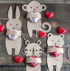 Fact: Valentine's Day is just seven days away. Fact: I have a three year old who has twenty kids in his class. Fact: I'm currently making some of the best valentine's I've ever made with the help of my three year old, and it's actually fun. I know, I can't quite believe it myself.