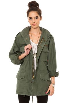 Rothco Jacket Vintage M-65 Field in Olive Drab