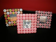 Bottlecap Frames | Community Post: 20 Rad Things You Can Make With Bottle Caps