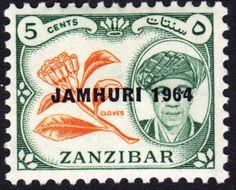 Jamhuri 5 cents Zanzibar 1964