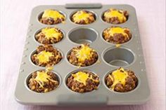 What's marvelous about these mini loaves is that using a muffin pan cuts the baking time in half.